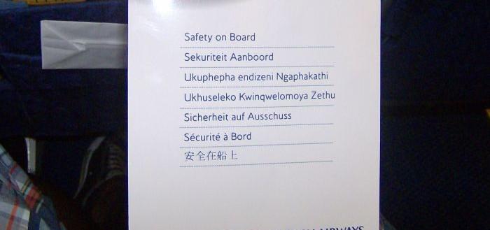 Sicherheit bei British Airways