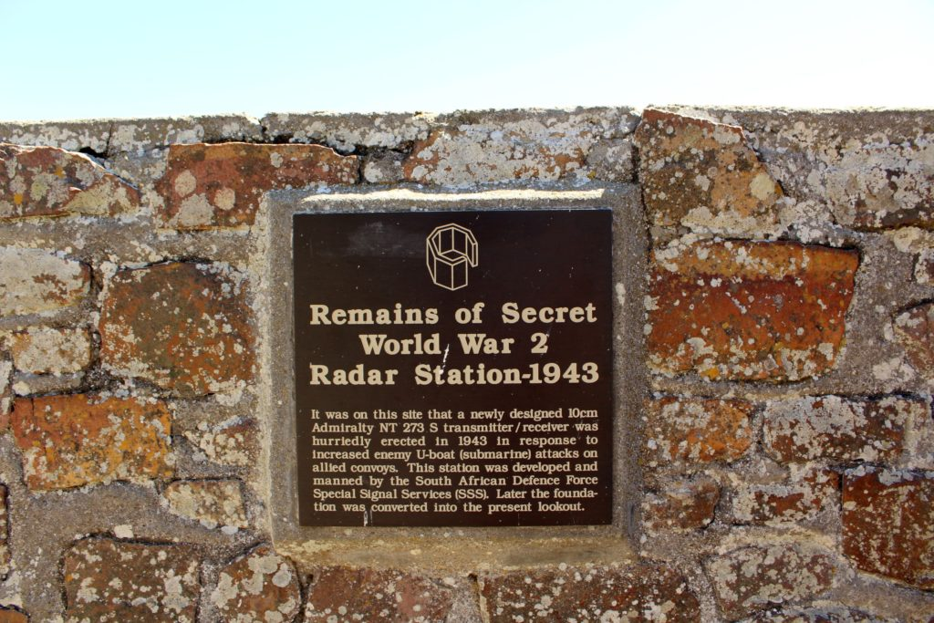 Radarstation am Cape Point