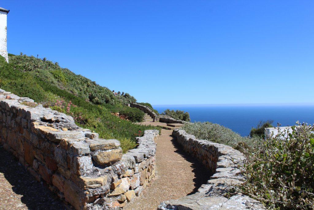 Weg auf dem Cape Point