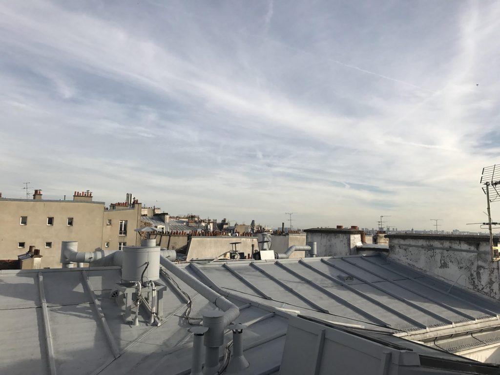 Den Blick über die Dächer der Stadt hatte ich mir romantischer vorgestellt